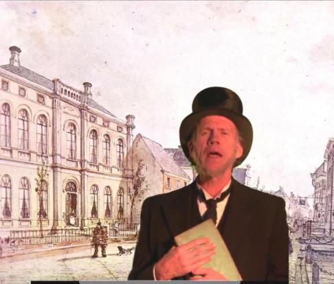 19e-eeuwse epidemioloog-viroloog dr. De Vries Reilingh
