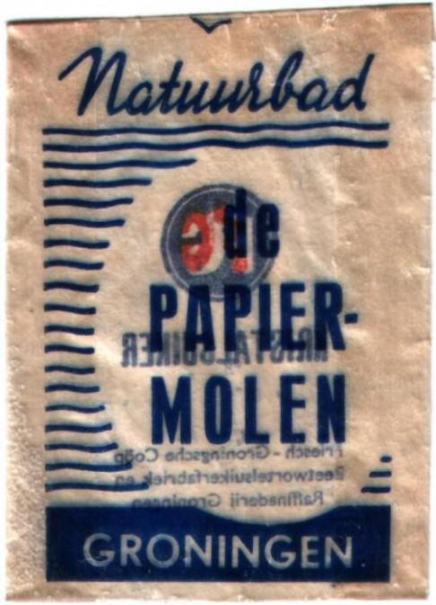 Suikerzakje Papiermolen