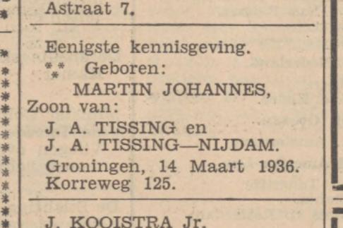 Martin Tissing