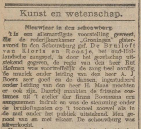 Nieuwsblad van het Noorden 2-1-1918.