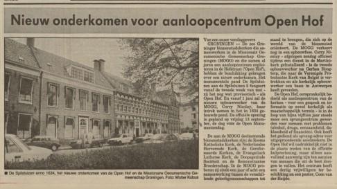 40 jaar Open Hof