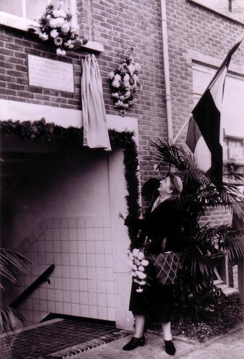 De 1e vrouwelijke wethouder van Groningen, mevrouw Aarsen-Jansen