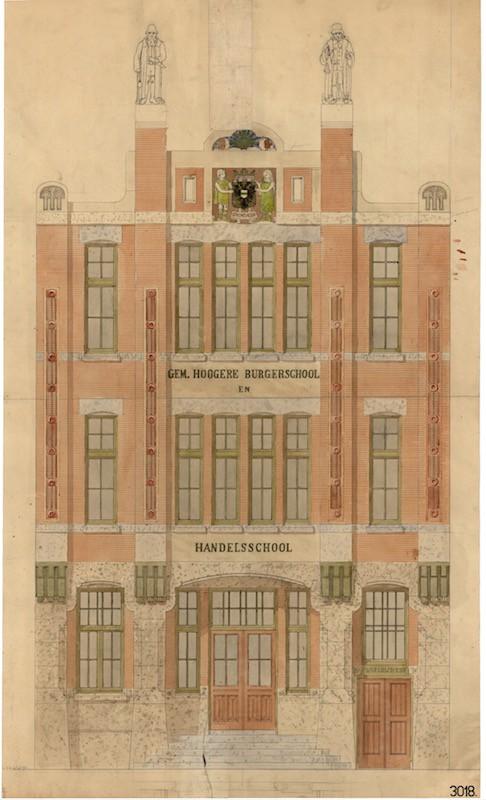100 jaar onderwijs aan de Nieuwe Sint Jansstraat