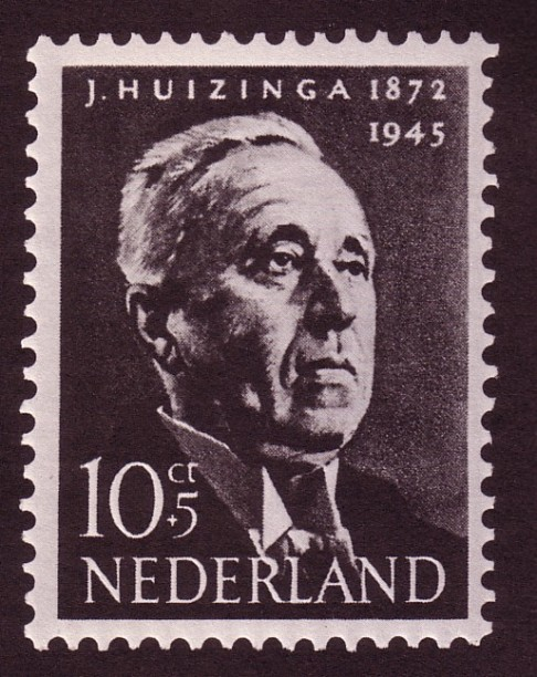 Postzegel Huizinga 1954