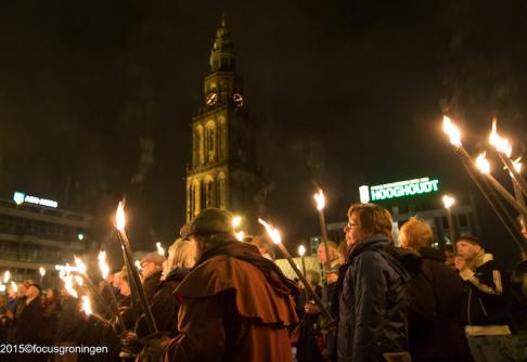 Kristallnacht herdenking 2015 op de Grote Markt