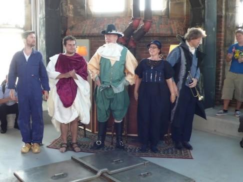 De acteurs van De Torenwachter