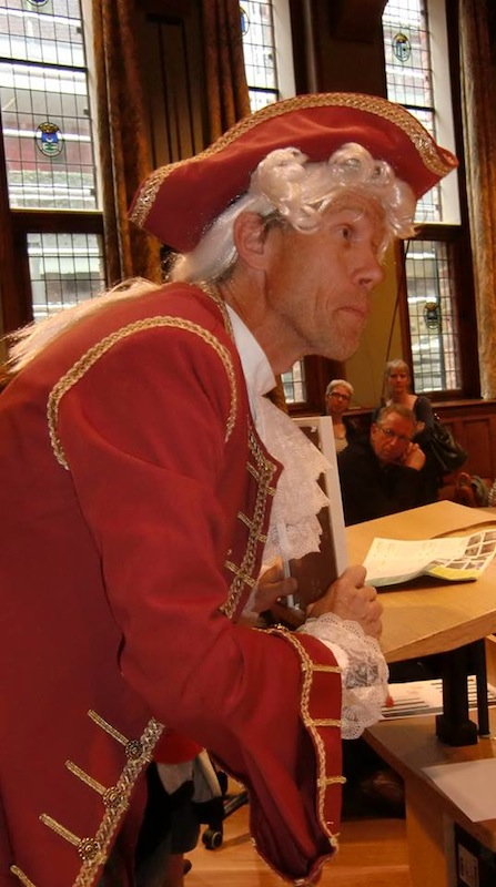 Willem IV op monumentendag.